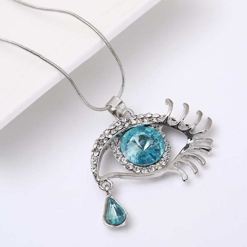 Eye & Tear Gems Necklace